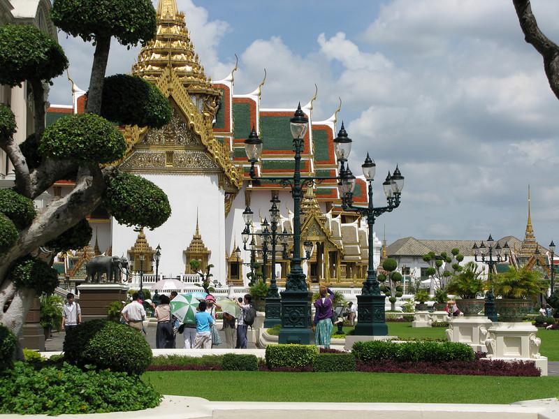 Grand Palace grounds - Bangkok