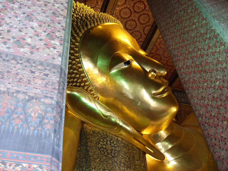 Head of the Reclining Budda Image