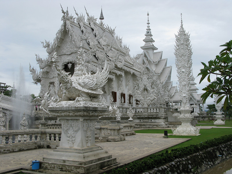 Wat Rong Khun - the White Temple created by Chalermchai