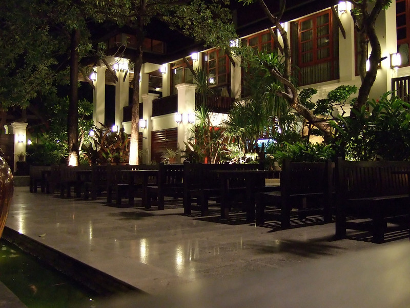 Grounds at the Weing Lakorn Hotel