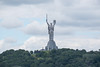 "The ""Motherland"" Statue of Kiev, Ukraine."
