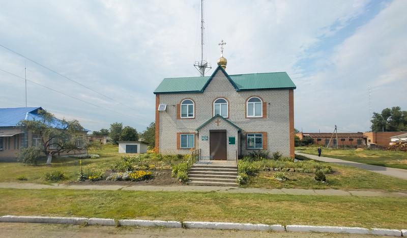 Church in Kemenchug, Ukraine.