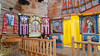 Inside the Church in the Cossack Fortress on Khortitsa Island, Zaporozhye, Ukraine.