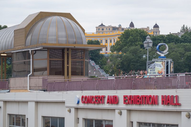 The Port of Odesa has a Concert and Exhibition Hall on their premises.