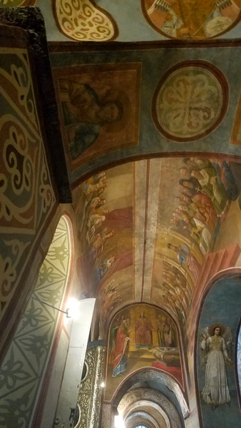 Inside St. Sophia's Cathedral, no photography is allowed.