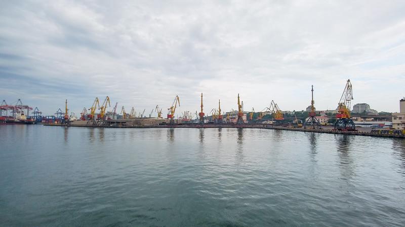 Port of Odesa, Ukraine.