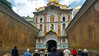 Entrance to the St. Sophia Cultural grounds and UNESCO World Heritage site, Kiev, Ukraine.