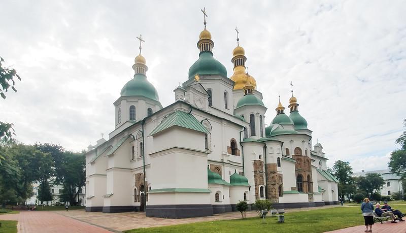 St. Sophia's Cathedral, Kiev, Ukraine.
