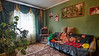 Family living room in the house, Kremenchug, Ukraine.