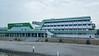 Port Authority Building in Kremenchug, Ukraine.