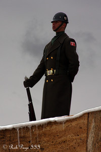Standing guard at Anitkabir - Ankara, Turkey ... March 7, 2011 ... Photo by Rob Page III