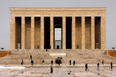 Ataturk's Mausoleum - Ankara, Turkey ... March 8, 2011 ... Photo by Rob Page III
