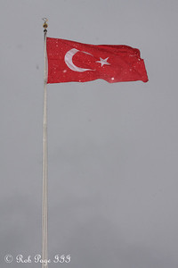The Turkish flag - Ankara, Turkey ... March 7, 2011 ... Photo by Rob Page III