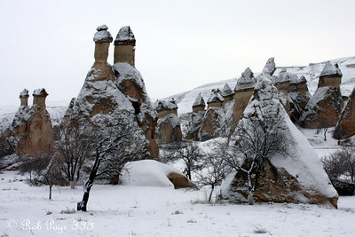 Fairy Chimney - Cavusin, Turkey ... March 10, 2011 ... Photo by Rob Page III