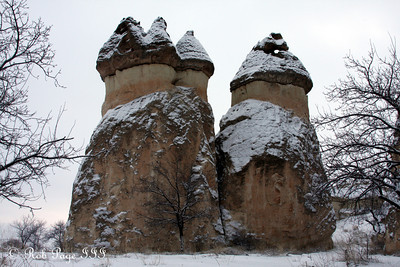 Fairy Chimney - Cavusin, Turkey ... March 10, 2011 ... Photo by Rob Page III