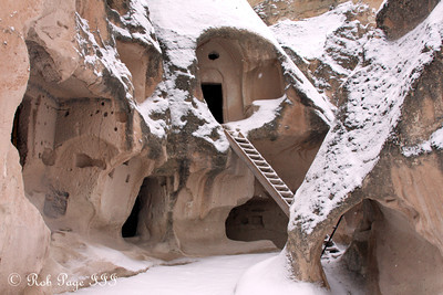 Living in the fairy chimney - Cavusin, Turkey ... March 10, 2011 ... Photo by Rob Page III