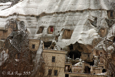 Fairy chimneys - Goreme, Turkey ... March 10, 2011 ... Photo by Rob Page III