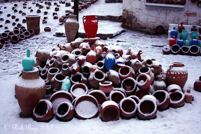 Pottery - Cavusin, Turkey ... March 10, 2011 ... Photo by Rob Page III