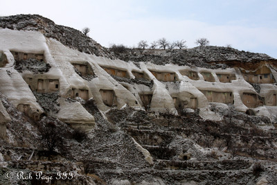 Pigeon coops - Goreme, Turkey ... March 11, 2011 ... Photo by Rob Page III