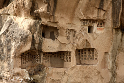 Old pigeon coops - Goreme, Turkey ... March 11, 2011 ... Photo by Rob Page III
