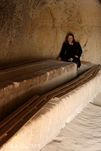 Emily exploring the Goreme open air museum - Goreme, Turkey ... March 11, 2011 ... Photo by Rob Page III