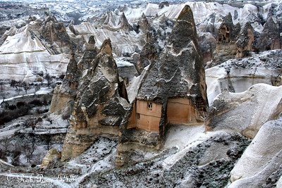 The fairy chimneys - Goreme, Turkey ... March 11, 2011 ... Photo by Rob Page III