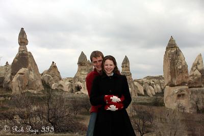 Enjoying the fairy chimneys - Goreme, Turkey ... March 11, 2011 ... Photo by Rob Page III
