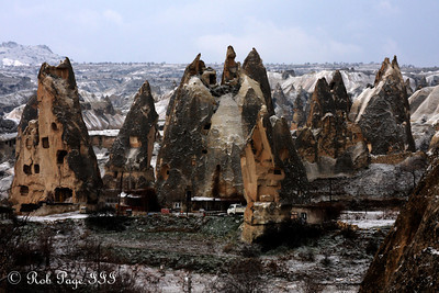 Fairy Chimney - Goreme, Turkey ... March 11, 2011 ... Photo by Rob Page III