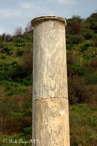 A column at Ephesus - Ephesus, Turkey ... March 5, 2011 ... Photo by Rob Page III