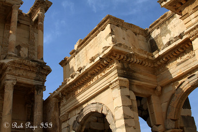 The Gate of Augustus and the Library of Celsus - Ephesus, Turkey ... March 5, 2011 ... Photo by Emily Page