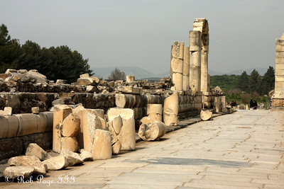 The marble walkway - Ephesus, Turkey ... March 5, 2011 ... Photo by Rob Page III