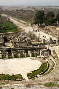 The view from the theatre - Ephesus, Turkey ... March 5, 2011 ... Photo by Rob Page III