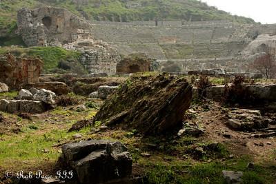 The theater at Ephesus - Ephesus, Turkey ... March 5, 2011 ... Photo by Rob Page III