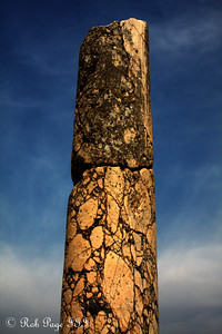 A column at the Church of Mary - Ephesus, Turkey ... March 5, 2011 ... Photo by Rob Page III