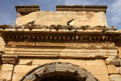 The Gate of Augustus - Ephesus, Turkey ... March 5, 2011 ... Photo by Rob Page III