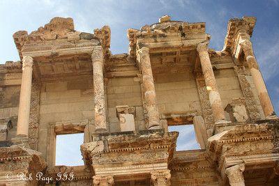 The Library of Celsus - Ephesus, Turkey ... March 5, 2011 ... Photo by Rob Page III