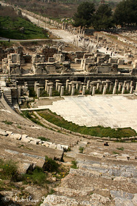 The view from the theater - Ephesus, Turkey ... March 5, 2011 ... Photo by Rob Page III