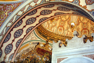 Inside the Topkapi Palace - Istanbul, Turkey ... March 4, 2011 ... Photo by Rob Page III