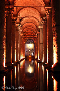 At the Basilica Cistern - Istanbul, Turkey ... March 4, 2011 ... Photo by Rob Page III