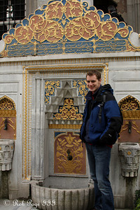 Rob at the Topkapi Palace - Istanbul, Turkey ... March 4, 2011 ... Photo by Emily Page