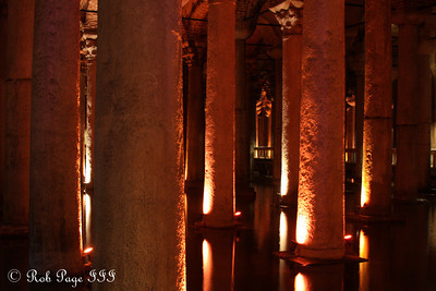 In the Basilica Cistern - Istanbul, Turkey ... March 4, 2011 ... Photo by Rob Page III