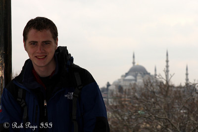 Rob enjoys Instanbul - Istanbul, Turkey ... March 4, 2011 ... Photo by Emily Page