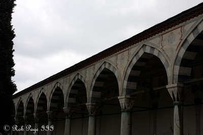 At the Topkapi Palace - Istanbul, Turkey ... March 4, 2011 ... Photo by Emily Page