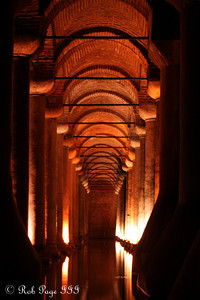 The Basilica Cistern - Istanbul, Turkey ... March 4, 2011 ... Photo by Rob Page III