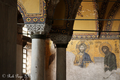 The Hagia Sophia which was once a church and a mosque - Istanbul, Turkey ... March 12, 2011 ... Photo by Rob Page III