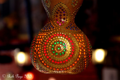 A Turkish lamp - Istanbul, Turkey ... March 12, 2011 ... Photo by Rob Page III