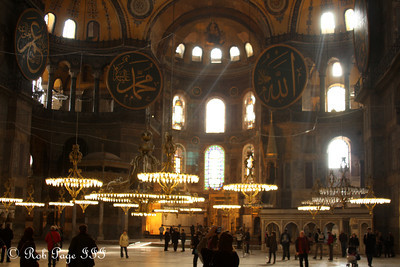 The Hagia Sophia - Istanbul, Turkey ... March 12, 2011 ... Photo by Rob Page III