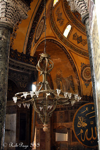 The Hagia Sophia - Istanbul, Turkey ... March 12, 2011 ... Photo by Emily Page