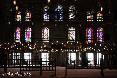 The Sultan Ahmed Mosque (Blue Mosque) - Istanbul, Turkey ... March 12, 2011 ... Photo by Rob Page III