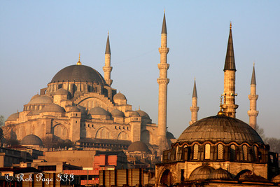 The Suleymaniye Mosque - Istanbul, Turkey ... March 13, 2011 ... Photo by Rob Page III